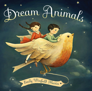 Cover art for Dream Animals bedtime picture book